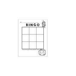 Bingo de l'Halloween (16 cases)