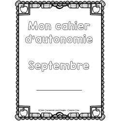 Cahier autonome : septembre