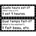 Questions orales françaises communes
