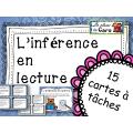 Cartes à tâches - L'inférence en lecture