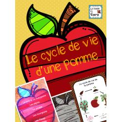 Le cycle de vie d'une pomme (Imprimable)
