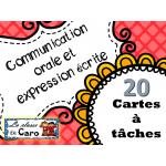La communication orale et l'expression écrite