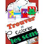 Trouver et colorier les sons - Imprimable