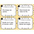 Trouve le verbe - Cartes à tâches