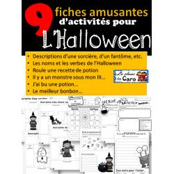 9 activités amusantes d'Halloween