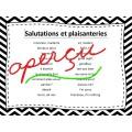 Aide-mémoire et DÉPANNAGE pour le FRANÇAIS