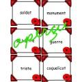 JOUR DU SOUVENIR - JEU Noms, adjectifs et verbes