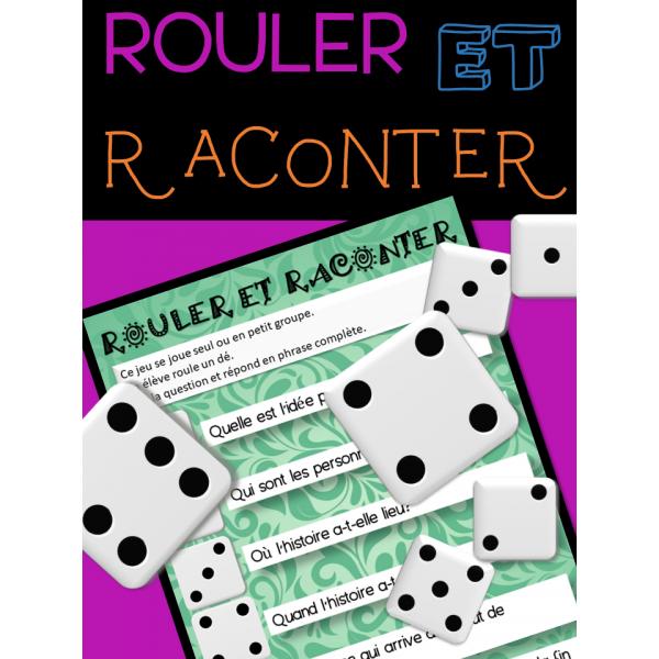 ROULER ET RACONTER - Compréhension de la lecture