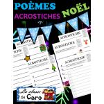 Poèmes acrostiches de Noël