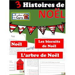 3 Histoires de Noël avec questions