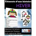 Éléments d'une histoire-HIVER- Livre