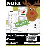 Éléments d'une histoire - NOËL - 18 PAGES