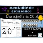 OBJECTIFS DE 2018 - MENTALITÉ DE CROISSANCE