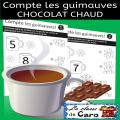 Compte les guimauves - Chocolat Chaud