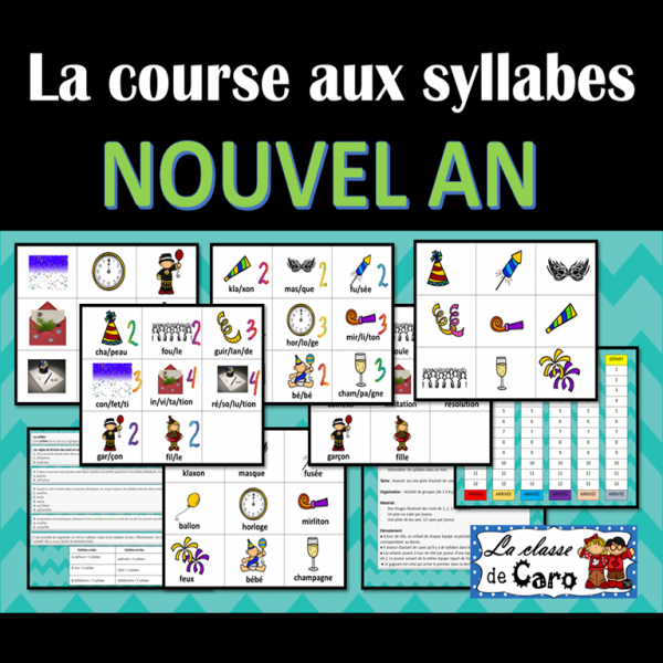 La course aux syllabes - Nouvel An