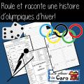 ROULE ET RACONTE une histoire d'olympiques d'hiver