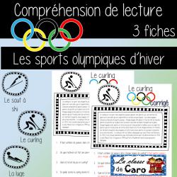 COMPRÉHENSION DE LA LECTURE-OLYMPIQUES D'HIVER #2