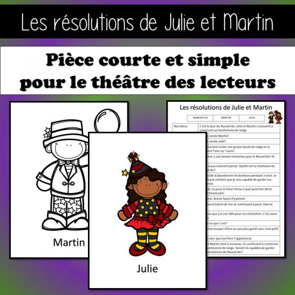 SKIT - Les résolutions de Julie et Martin