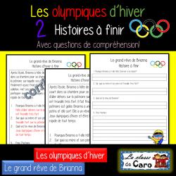Olympiques d'hiver - 2 histoires avec questions