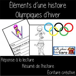 OLYMPIQUES D'HIVER - Éléments d'une histoire