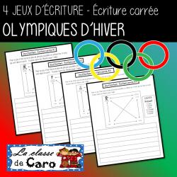 Écriture carrée - OLYMPIQUES D'HIVER