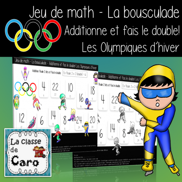 Jeu de math - ADDITION OLYMPIQUES