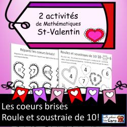 2 activités Mathématiques St-Valentin
