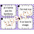 CORRECTION DE LA PHRASE - CARTES À TÂCHES
