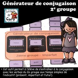 Générateur de conjugaison - 2e groupe