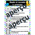 Roule et raconte - Le PRINTEMPS - Expression orale