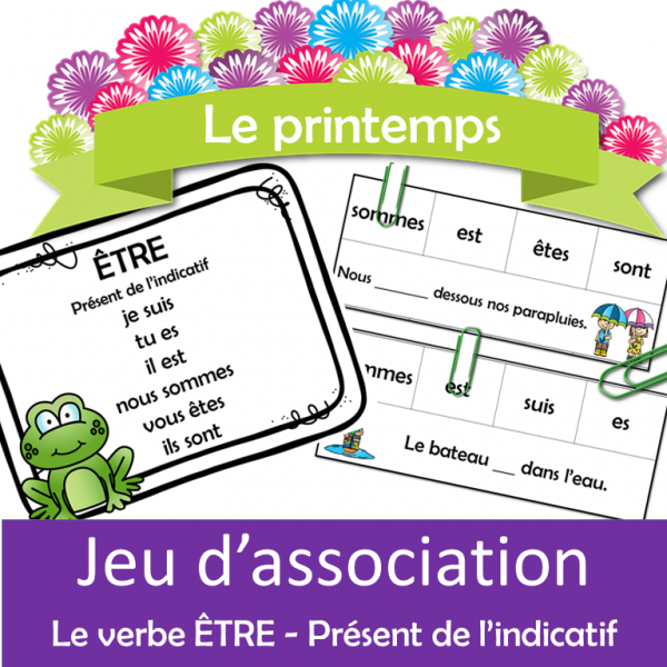 Jeu d'association - Le printemps