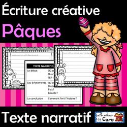 Écriture créative - Pâques - Texte narratif