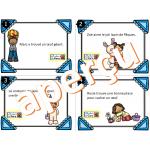 Trouve l'adjectif - PÂQUES - Cartes à tâches