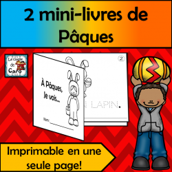 2 petits livres - Thème: PÂQUES