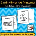 2 petits livres - Thème: Printemps #2
