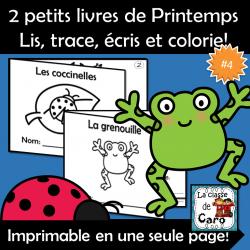 2 petits livres - Printemps #4
