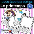 LIS ou ÉCOUTE et DESSINE - Printemps #2