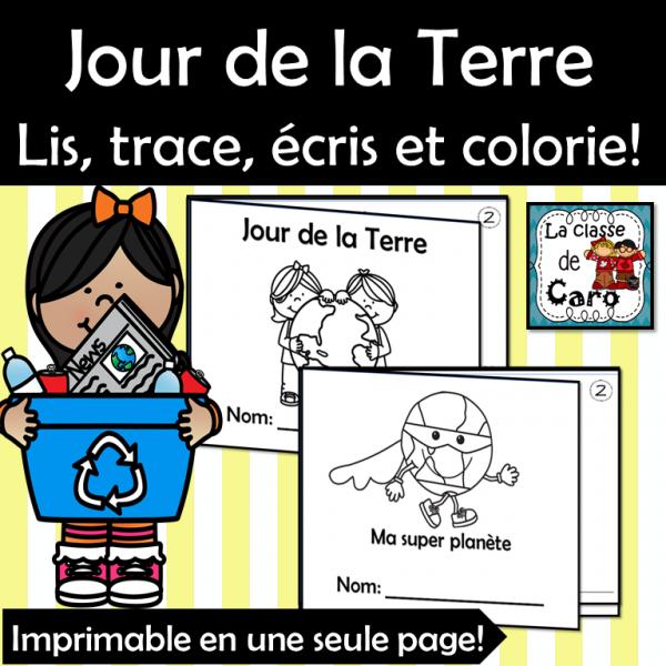 2 petits livres - JOUR DE LA TERRE