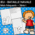 JEU - BATAILLE NAVALE Mots fréquents #1