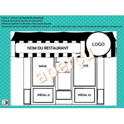 Ouvrir un restaurant - Écriture créative