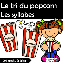 Le tri des syllabes - POPCORN