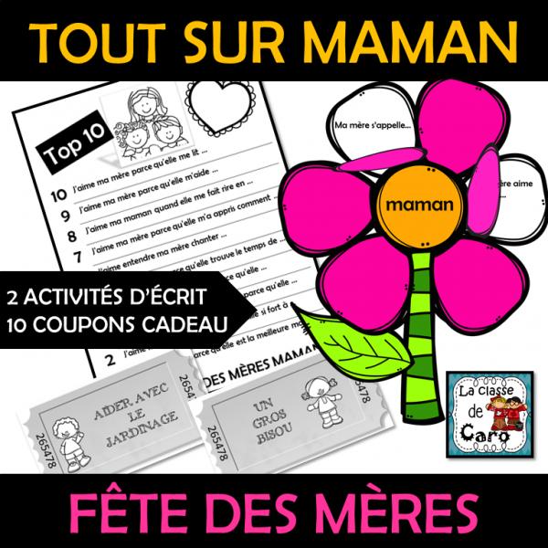 FÊTE DES MÈRES - TOUT SUR MAMAN