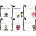 Trouve le verbe - L'été - 24 cartes à tâches
