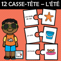 12 CASSE-TÊTE – L'ÉTÉ