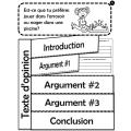 Texte d'opinion d'été - Choix de 2 sujets