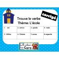 Trouve le verbe - Thème: L'école