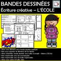 BANDES DESSINÉES  – L'ÉCOLE - La rentrée