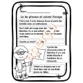 Activité de lecture Lis et colorie Thème – L'école