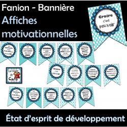 État d'esprit de développement - Fanion