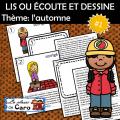 LIS OU ÉCOUTE ET DESSINE Thème: l'automne #1
